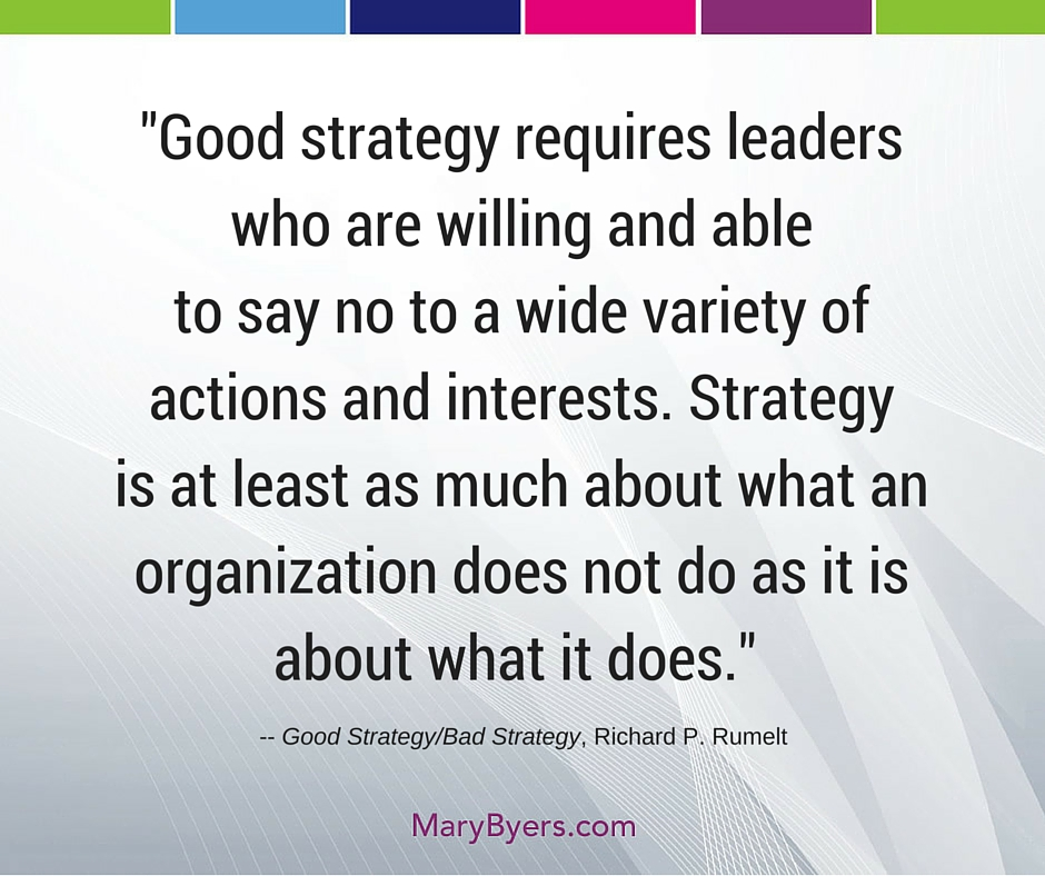 Quotable Quotes Amazing Quotable Quotes Good Strategy Mary Byers CAE